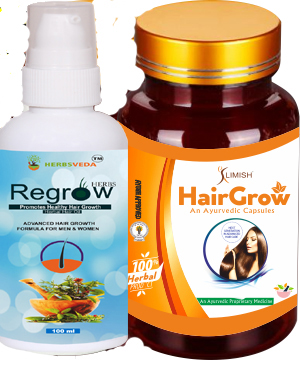 Hair and Scalp Growth Elixir Capsule